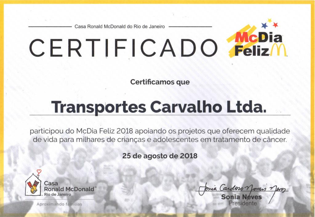 Certificado_TRANSPORTES CARVALHO